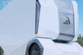 Беспилотный грузовик Einride T-pod начал эксплуатацию на общих дорогах Швеции